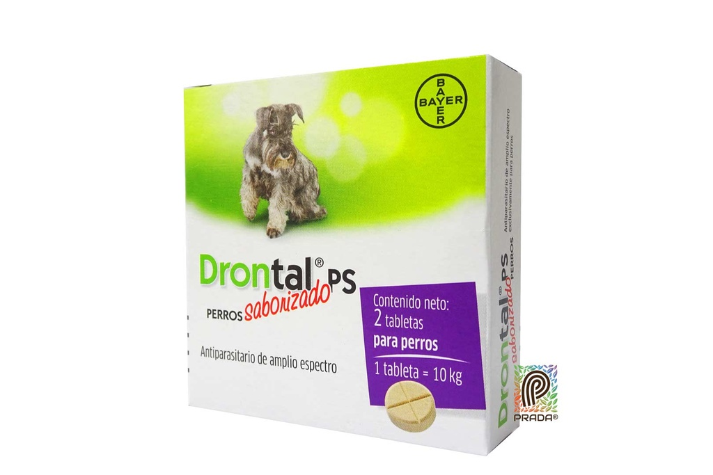 DRONTAL PS MEDIANO X 2 TAB