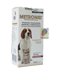 [9380] METRONID PETS FCO 15 ML